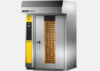 Ротационная печь MIWE ROLL-IN E+
